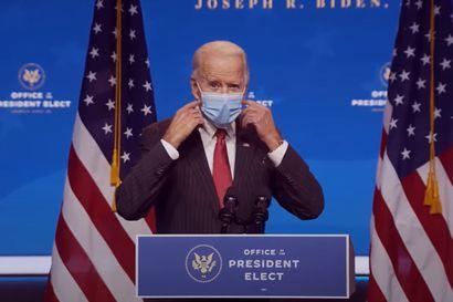 Joe Biden aikoo suositella kasvomaskin käyttämistä 100 päivän ajan – Nämä ovat Bidenin koronastrategian neljä keskeistä teemaa