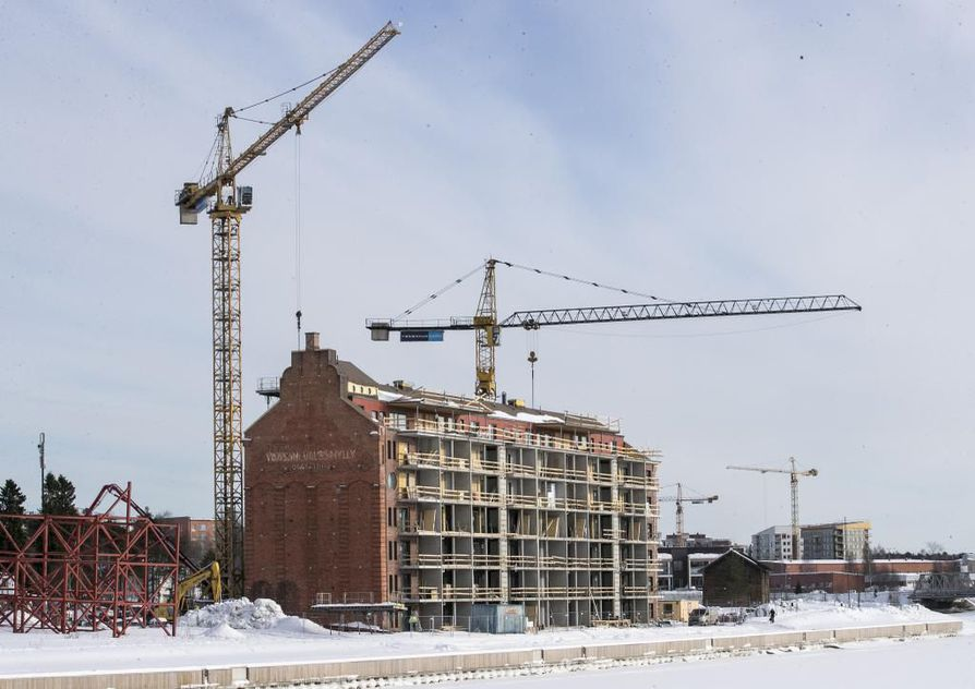 Työvoimapulaa on Pohjois-Pohjanmaalla muun muassa rakentamisen alalla.