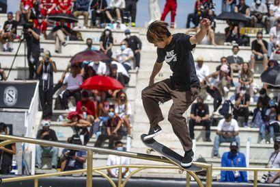 Skeittaajat saapuvat Tokioon – Rullalautailu on yksi olympialaisissa ensi kertaa nähtävistä lajeista