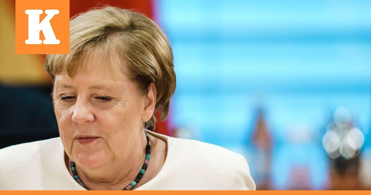 Liittokansleri Angela Merkel vieraili myrkytyksestä toipuvan Navalnyin...