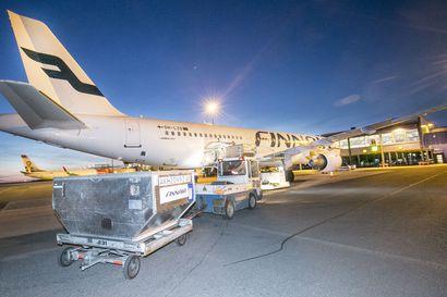 Finnairin Oulu–Helsinki-lennot on suunniteltu jatkoyhteyksiä ajatellen – päivämatkalaisten aikataulu venyy