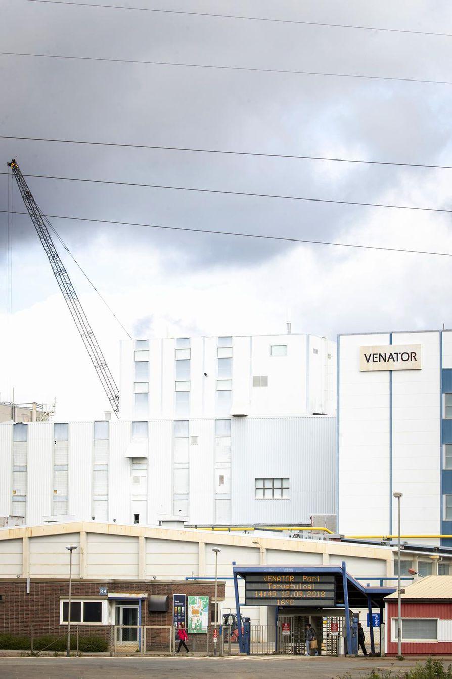 Venator ilmoitti sulkevansa pigmenttitehtaansa Porissa; tehtaassa on töissä 450 ihmistä. Tehdas on määrä sulkea vuoden 2021 loppuun mennessä.