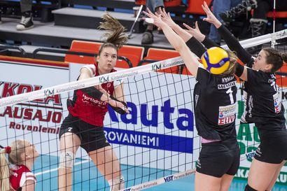 WoVo hyvällä ilmeelle joulutauolle - Hakkuri Saana Lindgren säkenöi OrPo-ottelussa: 37/+21 pistettä