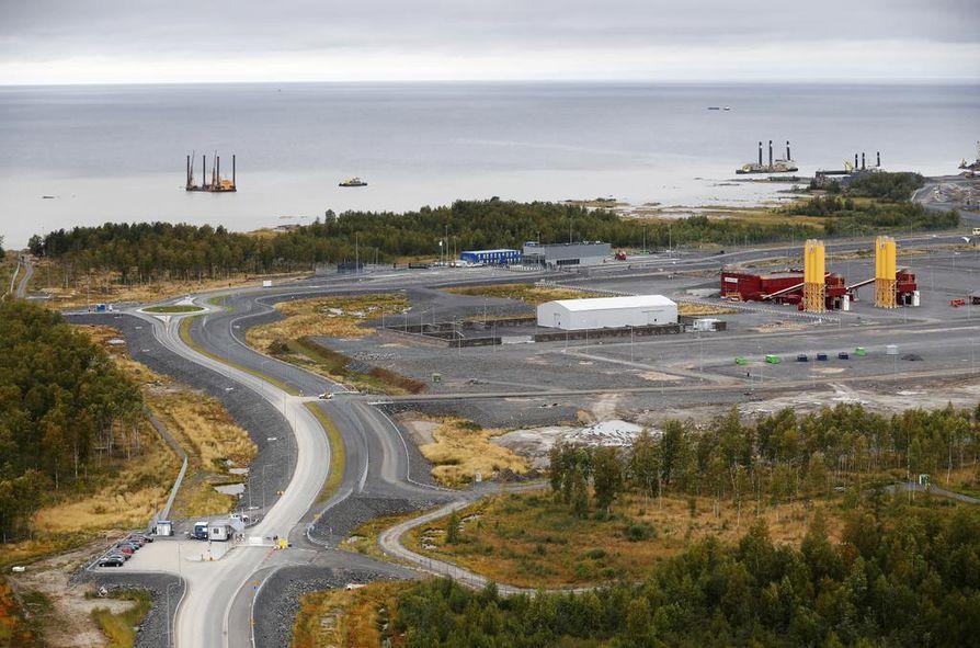 Fennovoiman suunnittelee ydinvoimalaitoksen rakentamista Pyhäjoen Hanhikivelle.