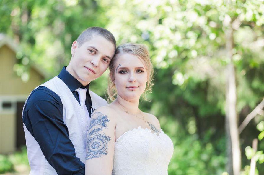 Nuori naimisissa seksiä