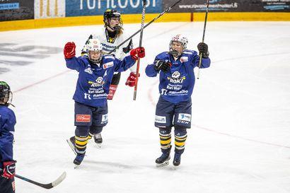 """Rovaniemen Kiekon naiset taistelivat Oulun Kärpät nurin – """"Viimeistely oli tänään huikealla tasolla"""""""