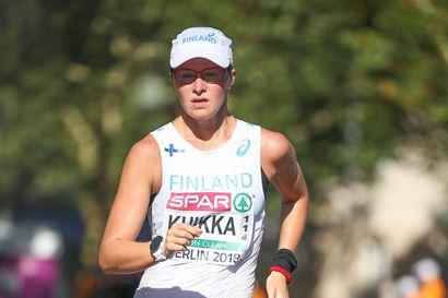 Flunssainen Tiia Kuikka ei kävele MM-kisoissa
