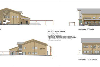 Liki yhdeksän miljoonan euron urakka - Saaren koulun rakentaminen alkaa Pyhäjoella