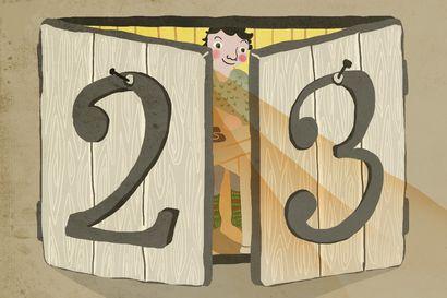 Joulutarina: Piparkakkuyllätys – luukku 23