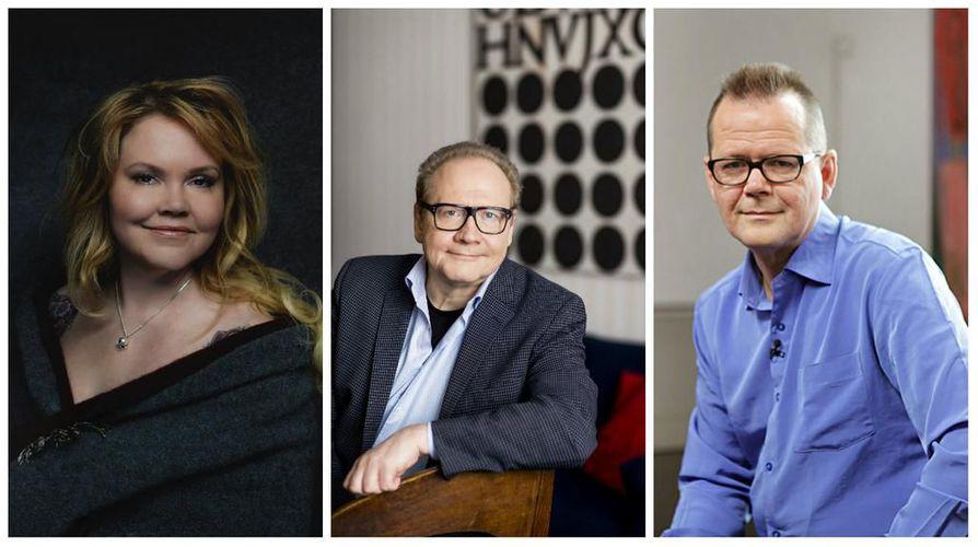Katja Kettu, Jari Tervo ja Kari Hotakainen ovat kirjoittaneet elämäkertoja.
