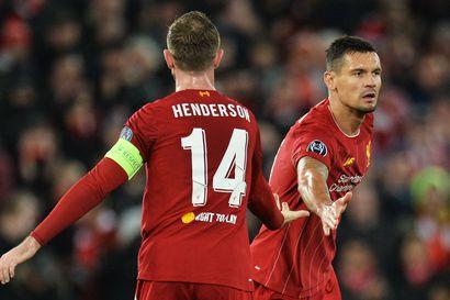 Napoli karkasi johtoon, mutta Liverpool nousi väkisin tasoihin