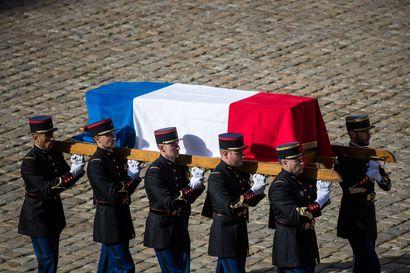 Maailman johtajat kokoontuivat Jacques Chiracin hautajaisiin Pariisiin