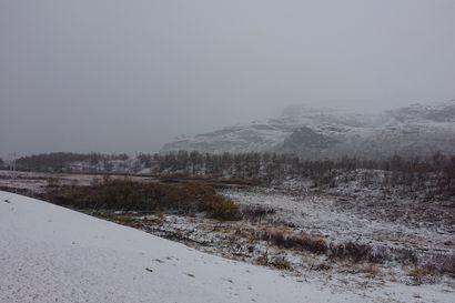 Pohjoiseen saadaan alkuviikosta lisää lunta, muualla Lapissa sataa vettä – keskiviikkona kylmenee