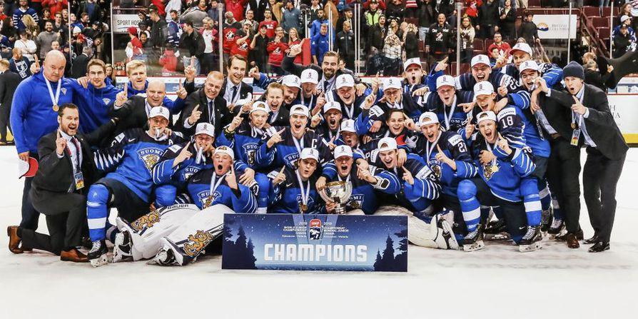 Suomi voitti nuorten MM-kisojen loppuotteluun lauantaina. Suomen vastustajana oli Yhdysvallat, ja ottelu päättyi Suomen 3-2-voittoon.