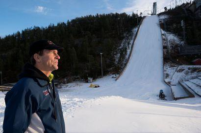 """""""Aikaisemminkin on ollut leutoja vuosia"""" – Ruka Nordicin pääsihteeri ei ole huolissaan lämpimistä ilmoista, vaan kertoo, että lunta riittää ja kisat järjestetään"""