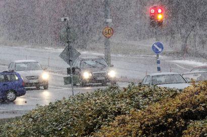 Pohjoisimpaan Lappiin sataa tulevana yönä ensilumi – lunta voi tupruttaa paikoin yli kymmenen senttiä