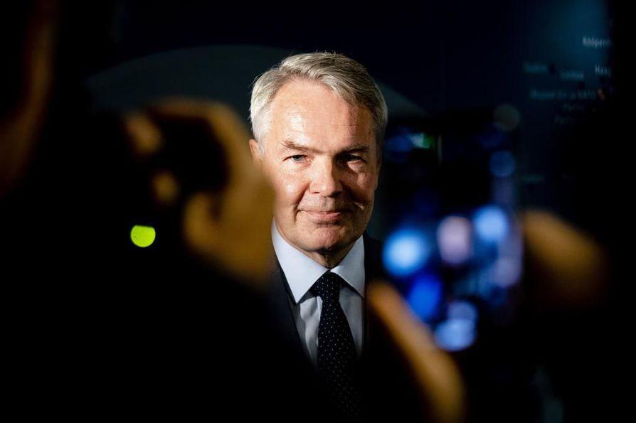 Ulkoministeri Pekka Haavisto (vihr.) antoi ulkoasiainvaliokunnalle tiistaina raportin Syyrian tilanteesta.