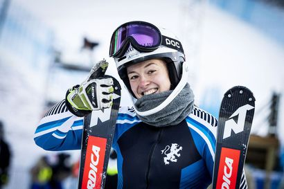 Santa Claus Ski Teamin Amerikan avuille kaksoisvoitto Suomulla