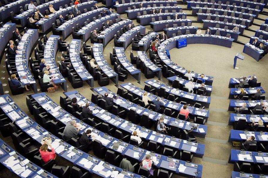 Perustuslakivaliokunta käsitteli mahdollista EU-notifikaatiota perjantaina antamassaan lausunnossa sote-uudistuksesta. Kuva Euroopan parlamentista Strasbourgista.