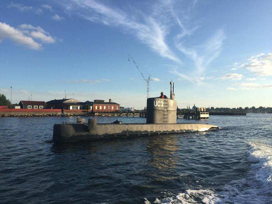 Kuvassa perjantaina uponnut UC3 Nautilus -sukellusvene.