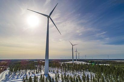 Pyhäjoki sallii Karhunnevankankaalle 250-metriset tuulivoimalat