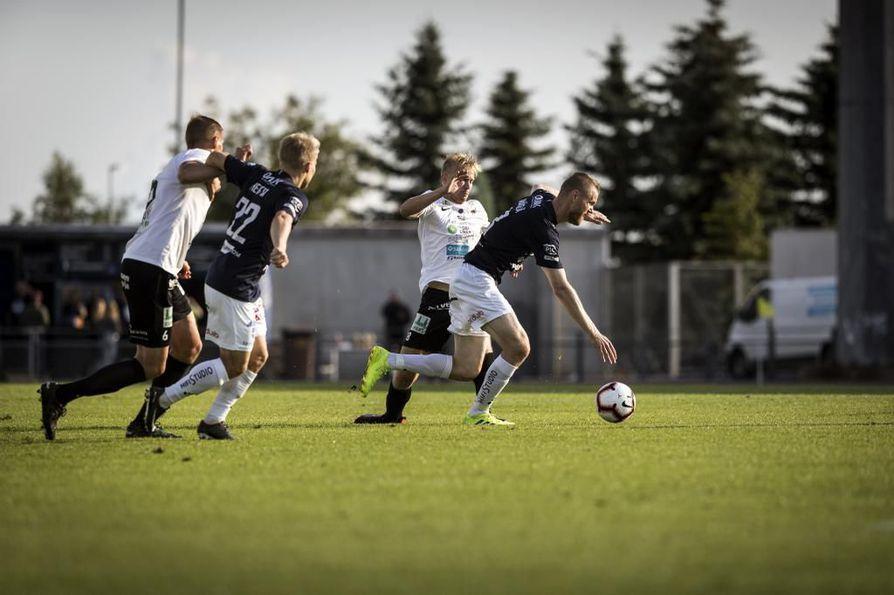 AC Oulu hävisi torstaina kamppailun Musan Salamaa vastaan lukemin 1-2.