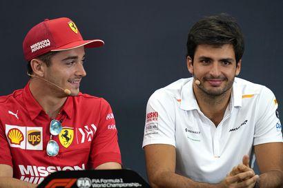 Ferrari saa Carlos Sainzista varman pisteidenkerääjän, mutta maailmanmestarin rooli on varattu Charles Leclercille