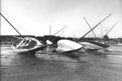 Kun Debby saapui Suomeen, siitä tuli tuhoisa Mauri – kuvat kertovat, miten vuosisadan pahin myrsky riehui Lapissa 38 vuotta sitten