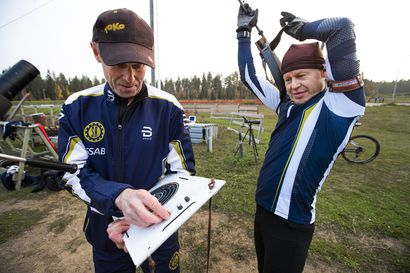 Ampumapyöräily hapottaa – katso videoita ja kuvia Saloisten Reippaan treeneistä