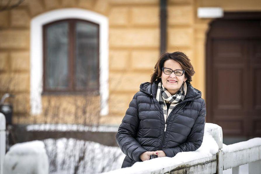 Kaupunginjohtaja Päivi Laajala asetti työryhmät Oulun kulttuuripääkaupunkihankkeeseen. Arkistokuva.