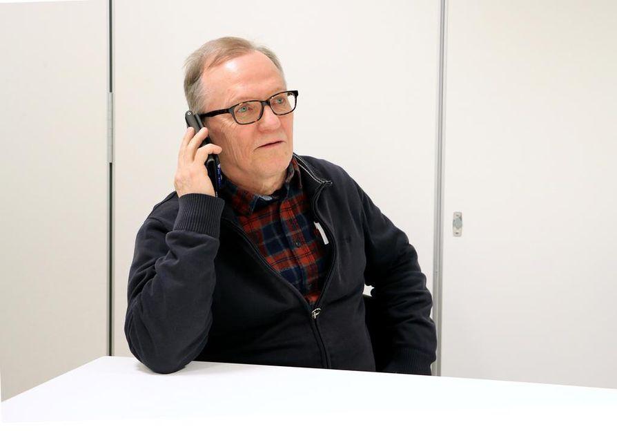 Jorma Inkeröisen mukaan jäsenasioissa riittää työnsarkaa, mutta hän on innoissaan siitä, että aluejärjestö luottaa hänen tapaansa toimia.
