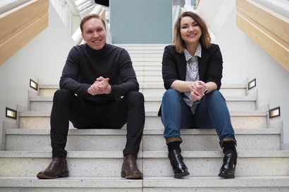 Sanna ja Lasse Paakkonen alkavat yhteisyrittäjiksi