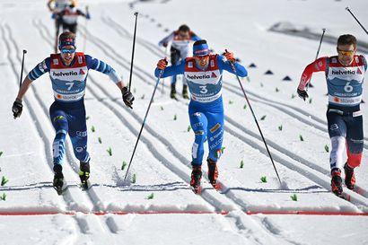 Suomen miesten sprinttikolmikko koki identtiset pettymykset