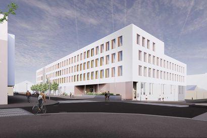 Oulun uuden oikeustalon rakennustyöt käynnistyvät