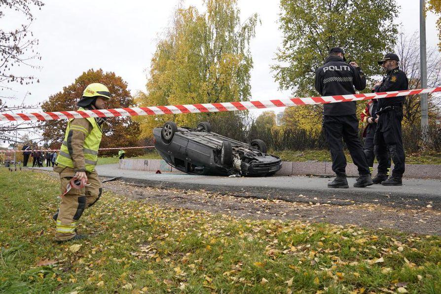 Hälytys tapauksesta tuli kello 13.45 Suomen aikaa tiistaina.