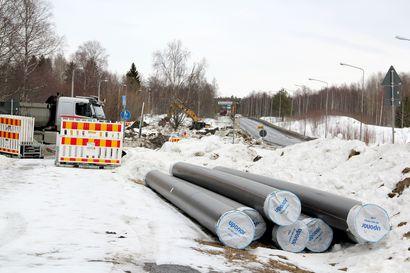 Kemin kaupunki aloitti jättiurakan tulevan tehtaan ympäristössä – Väyliin ja infraan panostetaan pääurakassa 12 miljoonaa euroa