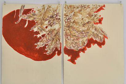 Arvio: Anne Yonchan maalaukset ovat sukelluksia suohon vähän pintaa syvemmälle
