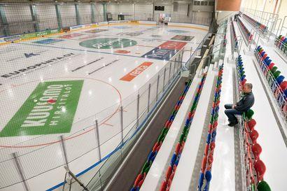 Jäävuorot alkavat perjantai-iltapäivänä – katso kuvat Kuusamon uudesta jäähallista