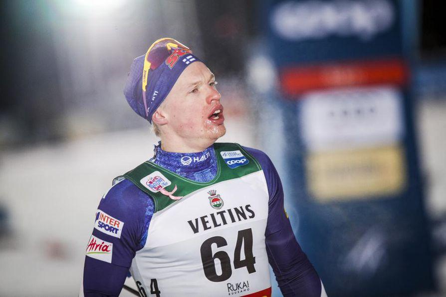 Iivo Niskanen sijoittui seitsemänneksi Rukan maailmancupin kisassa.