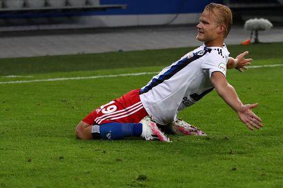 Joel Pohjanpalo iski jälleen kaksi maalia - tyly tilasto paljastaa HSV:n viime hetkien sulamiset