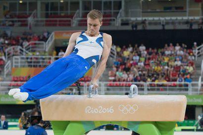 Emil Soravuo ja Oskar Kirmes voimistelun MM-finaaliin