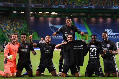 Lyon yllätti Mestarien liigassa Manchester Cityn ja eteni välieriin – vaihtomies Dembelestä tuli maaleineen ranskalaisten sankari