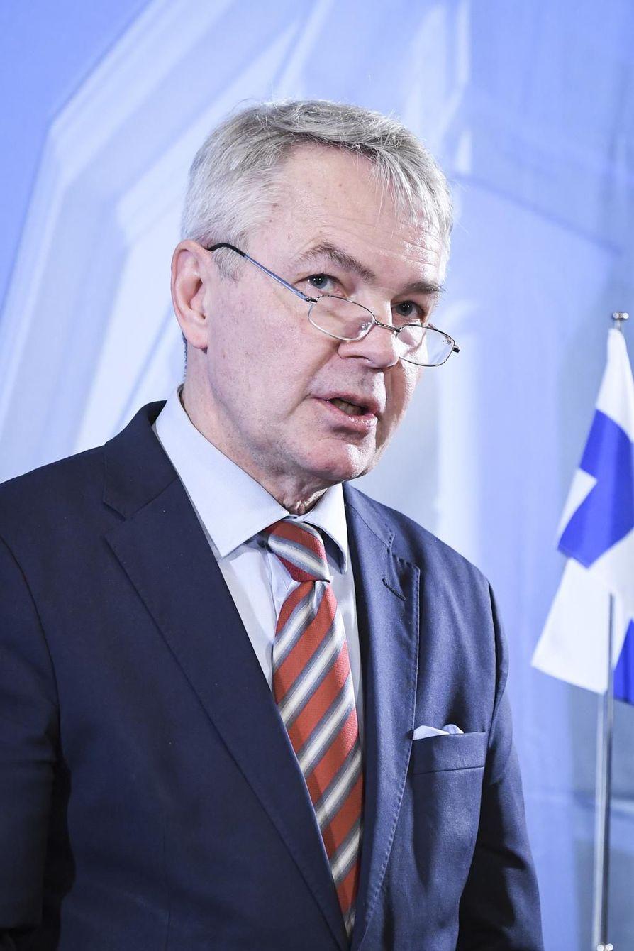Kirjoittaja Pekka Haavisto on Suomen ulkoministeri.