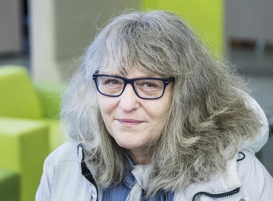 Marianne Stahl käy mielellään työvoimatoimistossa, jonka virkailijat ovat ystävällisiä ja auttavaisia.