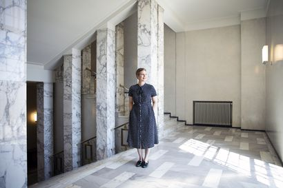 """Pikavauhtia ryhmänsä johtoon noussut kansanedustaja Jenni Pitko: Mokaaminen pelottaa – """"Tässä ammatissa sillä voi olla aika radikaalit seuraukset"""""""