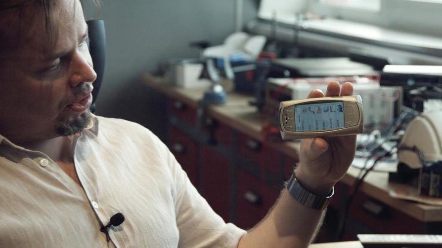 Johannes Väänäsen kehittämässä myDevice-laitteessa on muun muassa kosketusnäyttö. Nokia ei kiinnostunut Väänäsen puhelimen ominaisuuksista.