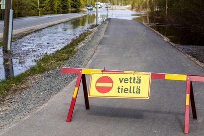 Viime kevään suurtulvat olisivat olleet Rovaniemellä lähes metrin korkeammat ilman tekoaltaita - Kemijoki Oy:lla ei ole suunnitelmissa uusia allashankkeita