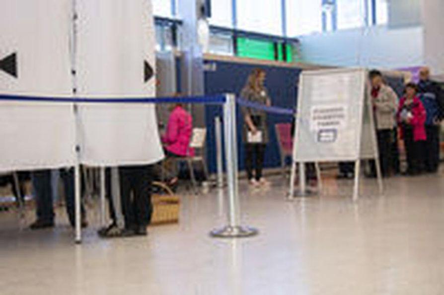 Eurovaaleissa äänesti ennakkoon 21 prosenttia äänioikeutetuista.