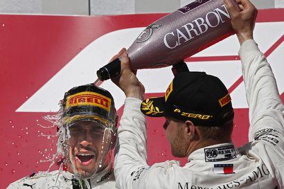 Hamiltonin valtakausi jatkuu: kuudes MM-kulta – Bottas ohitti tallitoverinsa, voitti ja nappaa MM-hopeaa