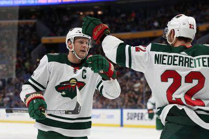 """Mikko Koivu päättää NHL-uran jatkosta kauden jälkeen: – """"Vielä ei ole lopullisen päätöksen aika"""""""
